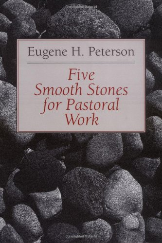 Five Smooth Stones for Pastoral Work   1992 edition cover
