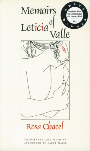 Memoirs of Leticia Valle   1994 edition cover