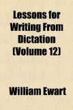 Lessons for Writing from Dictation  2010 edition cover