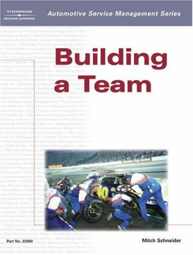 Building a Team   2003 edition cover