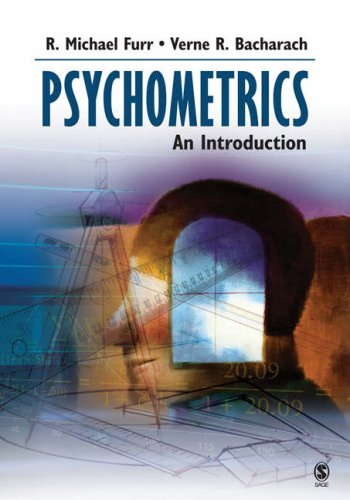Psychometrics An Introduction  2008 edition cover