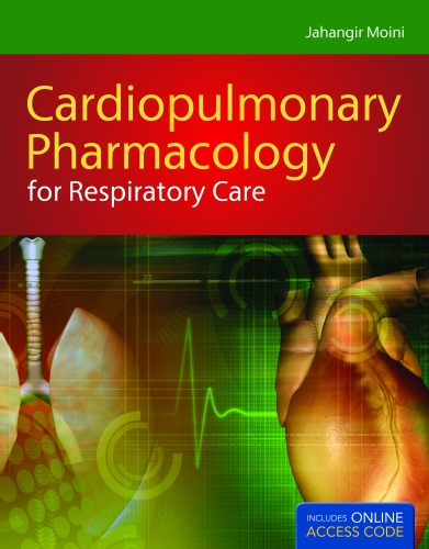 Cardiopulmonary Pharmacology for Respiratory Care   2012 edition cover