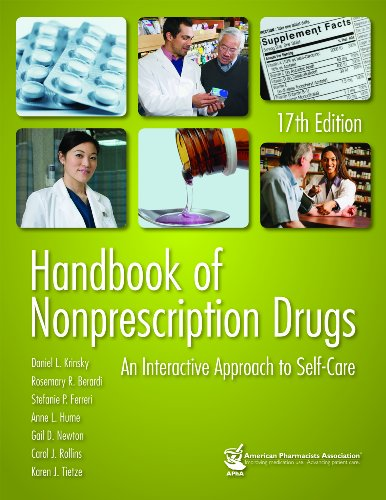 Handbook of Nonprescription Drugs An Interactive Approach to Self-Care N/A edition cover