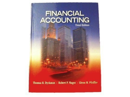 Financial Accounting  3rd 9781934319604 Front Cover