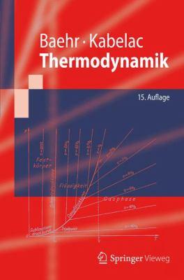 Thermodynamik  15th 2012 edition cover