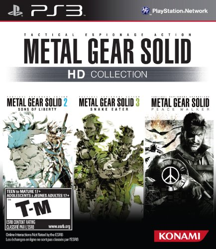 Metal Gear Solid HD Collection PlayStation 3 artwork