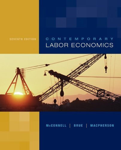Contemporary Labor Economics  7th 2006 (Revised) 9780072978605 Front Cover