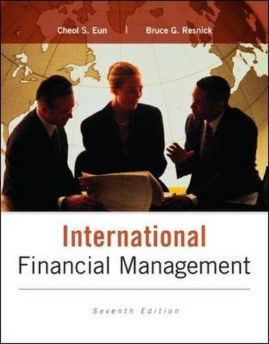 International Financial Management  7th 2015 9780077861605 Front Cover