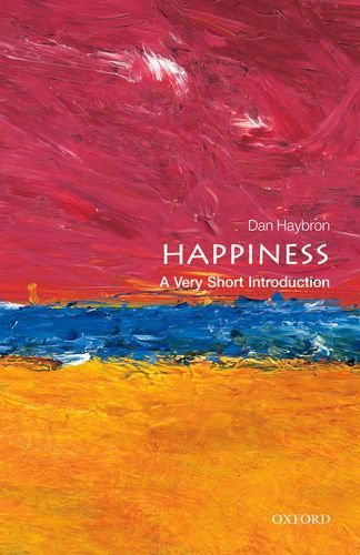 Happiness: a Very Short Introduction   2013 edition cover