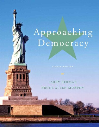 Approaching Democracy  8th 2013 (Revised) edition cover