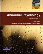 Abnormal Psychology Core Conc  2008 9780205785605 Front Cover