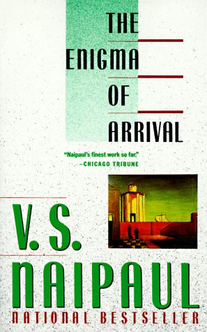 Enigma of Arrival  Reprint  edition cover