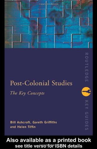 Post-Colonial Studies The Key Concepts 2nd 2000 (Revised) edition cover