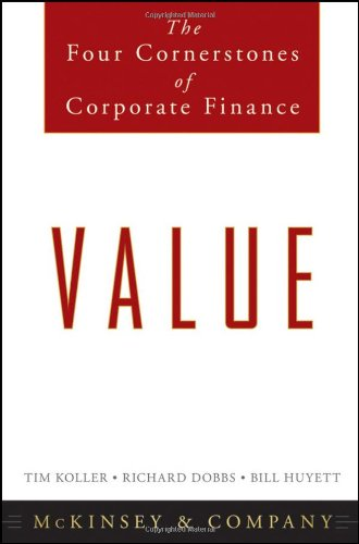 Value The Four Cornerstones of Corporate Finance  2011 edition cover
