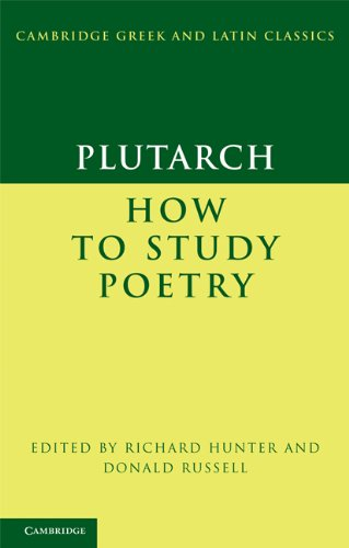 How to Study Poetry   2011 9780521173605 Front Cover