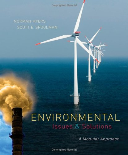 Environmental Issues and Solutions A Modular Approach  2014 edition cover