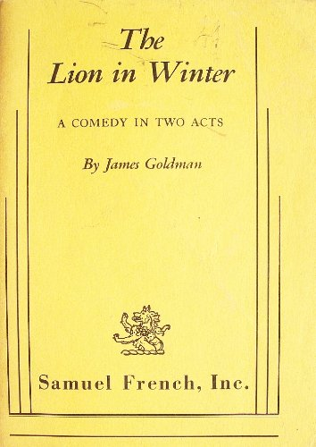 LION IN WINTER 1st edition cover