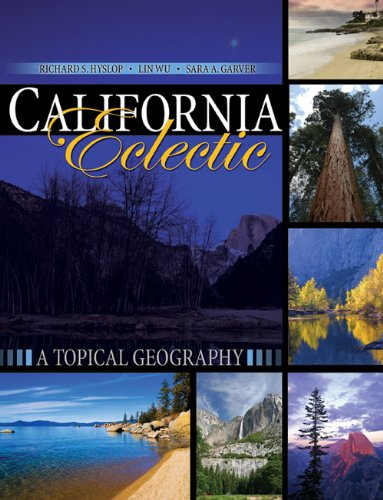 California Eclectic A Topical Geography Revised  edition cover