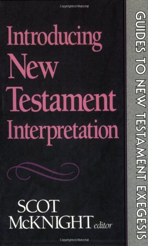 Introducing New Testament Interpretation  N/A edition cover
