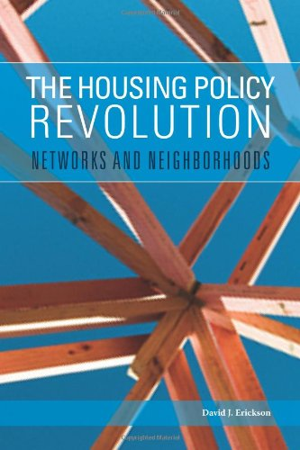 Housing Policy Revolution Networks and Neighborhoods  2009 9780877667605 Front Cover