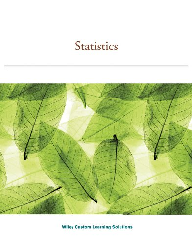 STATISTICS >CUSTOM<                     N/A 9781118888605 Front Cover