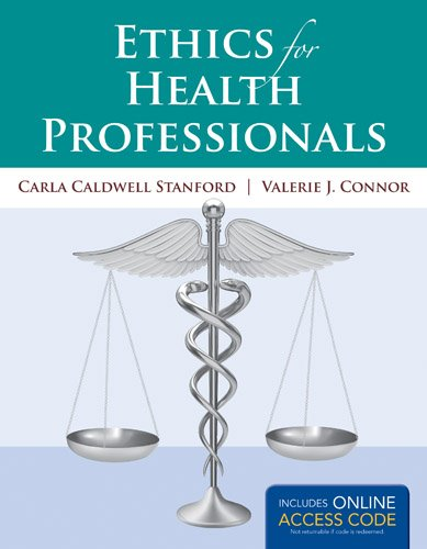 Ethics for Health Professionals   2014 edition cover
