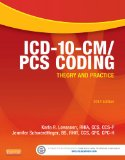 ICD-10-CM/Pcs 2014 Coding: Theory and Practice  2013 edition cover