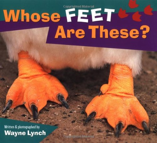 Whose Feet Are These?  N/A 9781551108605 Front Cover