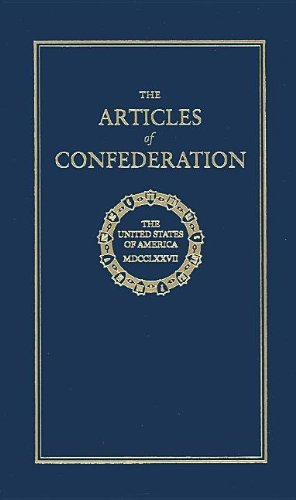 Articles of Confederation  N/A 9781557094605 Front Cover
