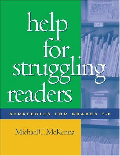 Help for Struggling Readers Strategies for Grades 3-8  2002 edition cover