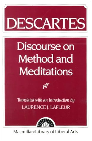 Descartes Discourse Method and Meditations  1960 edition cover