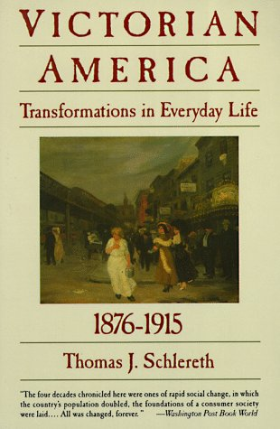 Victorian America Transformations in Everyday Life, 1876-1915  1992 (Reprint) 9780060921606 Front Cover