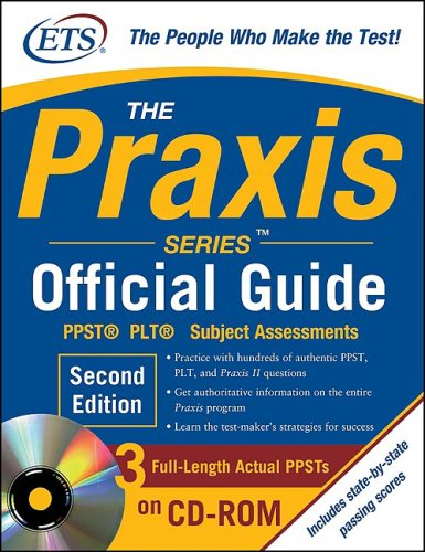 Praxis PPST� PLT� Subject Assessments 2nd 2010 edition cover