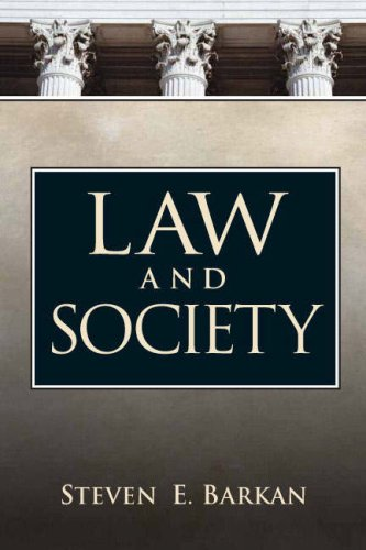 Law and Society An Introduction  2008 edition cover