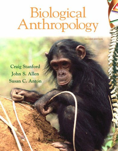 Biological Anthropology  2nd 2009 edition cover
