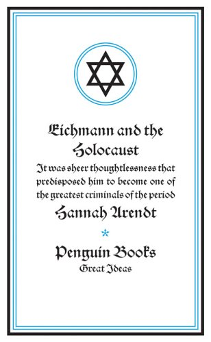 Eichmann and the Holocaust   2006 edition cover