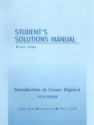 Introduction to Linear Algebra 5th 2002 edition cover