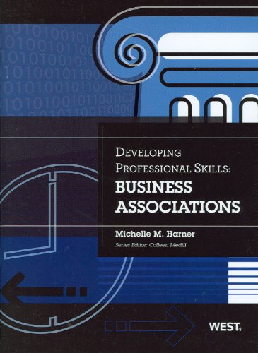 Developing Professional Skills Business Associations  2012 edition cover