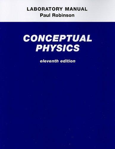 Laboratory Manual for Conceptual Physics  11th 2010 edition cover