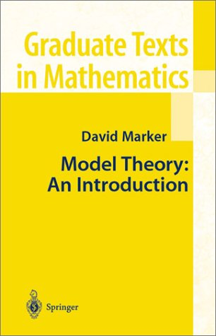 Model Theory An Introduction  2002 edition cover