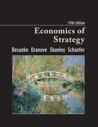 Economics of Strategy  5th 2010 edition cover