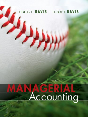 Managerial Accounting   2012 edition cover
