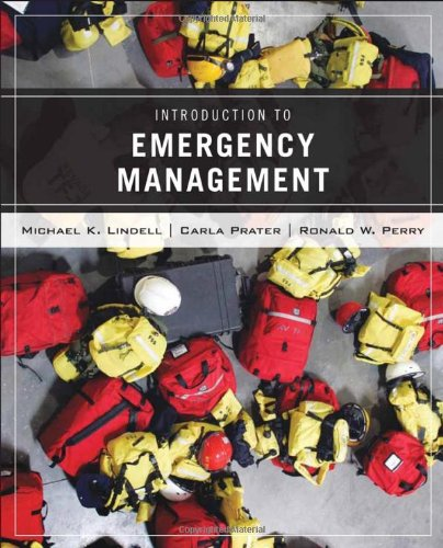 Introduction to Emergency Management   2007 edition cover