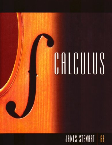 Calculus  6th 2008 edition cover