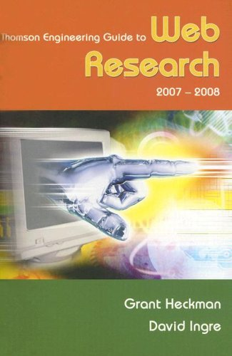 Thompson Engineering Guide to Web Research 2007-2008  6th 2008 9780495082606 Front Cover