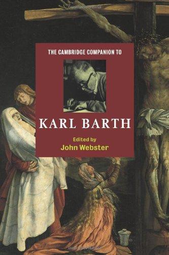 Cambridge Companion to Karl Barth   2000 edition cover