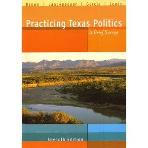Practicing Texas Politics A Brief Survey 7th 2002 (Brief Edition) 9780618155606 Front Cover