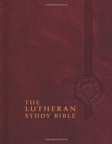 Lutheran Study Bible-ESV  N/A edition cover