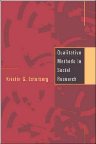 Qualitative Methods in Social Research   2002 edition cover