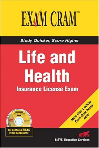 Life and Health Insurance License Exam Cram   2005 edition cover